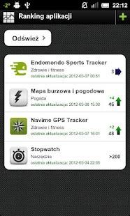 Ranking aplikacji