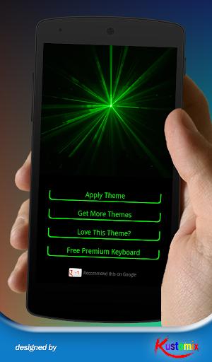 Green Laser Keyboard