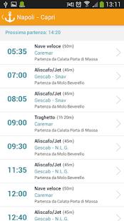 Capri Schedule - screenshot thumbnail
