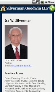 Silverman Goodwin LLP Attorney - screenshot thumbnail