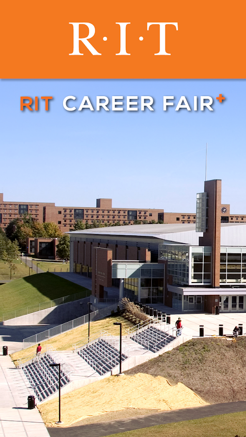 RIT Career Fair Plus- screenshot