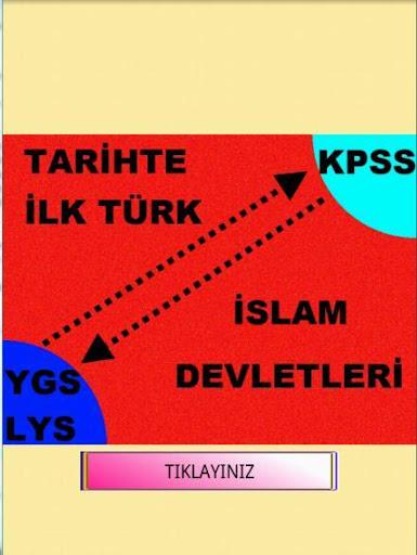 TARİH İLK TÜRK İSLAM DEVLETLER