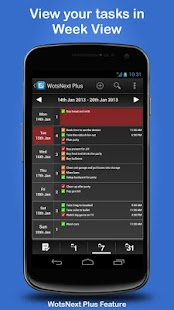WotsNext - To-do / Task List - screenshot thumbnail