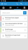 Screenshot of Cue for Todo.ly (beta)