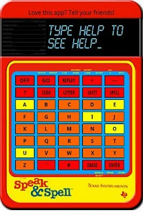 Speak and Spell - screenshot thumbnail