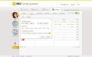 Screenshot of NQ Family Guardian