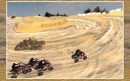 玩賽車遊戲App|Quad Bike Race Desert Offroad免費|APP試玩