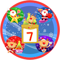 Christmas Sticker Widget Seven logo