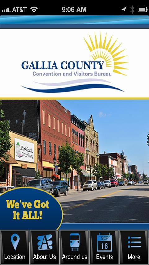 Gallia County Visitor- screenshot