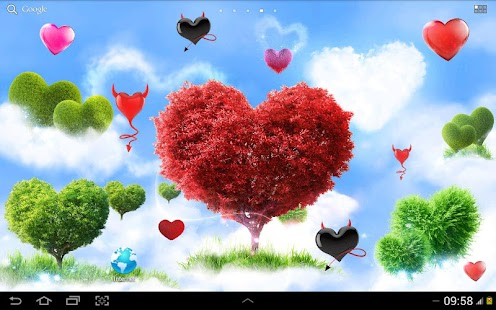 Heavenly Hearts Garden HD Free- screenshot thumbnail
