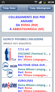 miMuovo - Bus & Treni Italia - screenshot thumbnail
