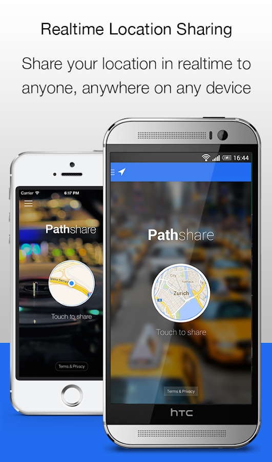 Pathshare GPS Location Sharing- screenshot