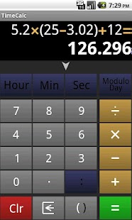 Time Calculator- screenshot thumbnail