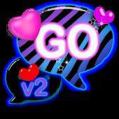 Zebra Love Theme GO SMS PRO