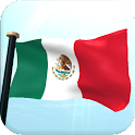 Mexico Flag 3D Live Wallpaper icon
