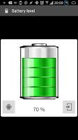 Screenshot of Show battery level