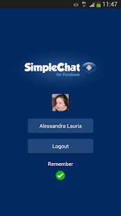 SimpleChat for Facebook (ads)- screenshot thumbnail