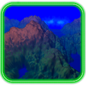 Vol paysage 3D icon