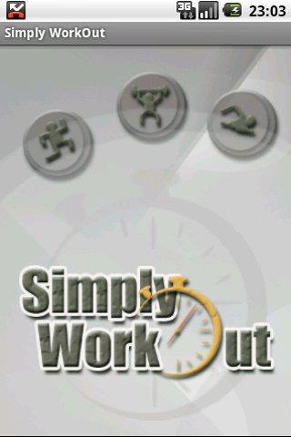 Simply WorkOut - screenshot