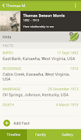 Screenshot of Ancestry