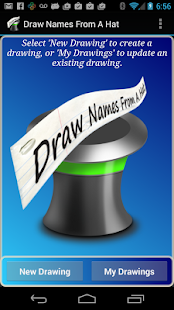 Draw Names From A Hat- screenshot thumbnail