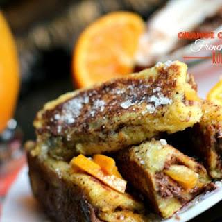 Orange Chocolate French Toast Roll-Ups