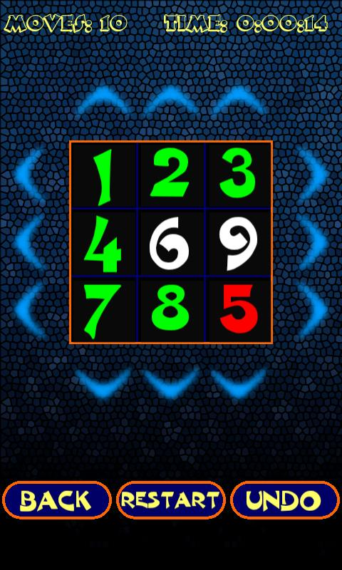 Number Mix Puzzle - screenshot