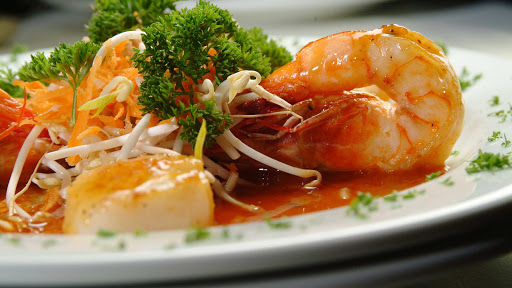 Panama-shrimp - Freshly cooked shrimp in Panama.