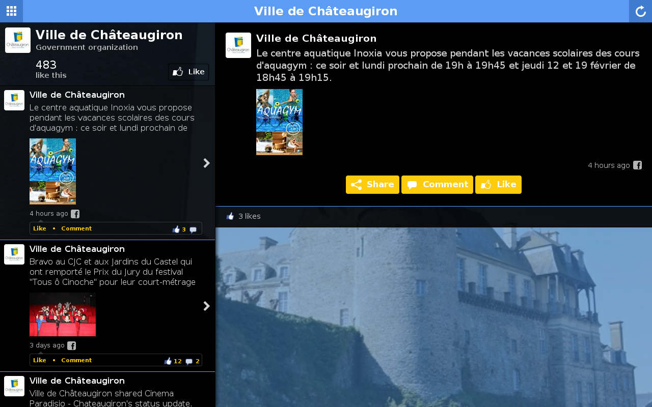 Ch teaugiron android apps on google play for Chateaugiron piscine