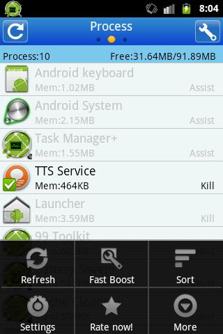 Task Manager +- screenshot