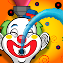 Clown Watergun Race! logo