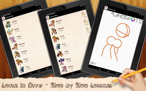 Learn to Draw Fairy Pony Club