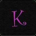 K Monogram Live Wallpaper logo