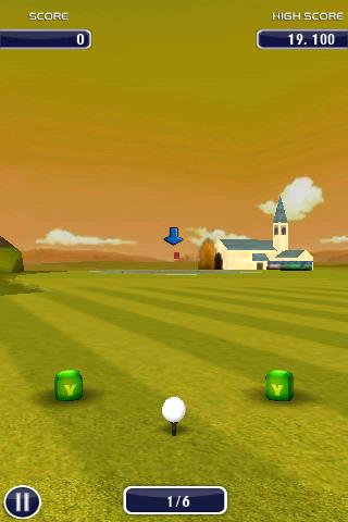 Golf 3D - screenshot
