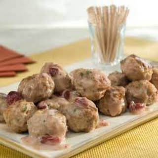 Slow Cooker Turkey Swedish Meatballs.