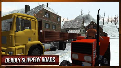Winter Hill Climb Truck Racing