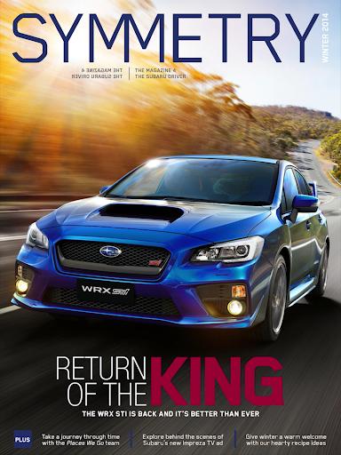 Subaru Symmetry Magazine