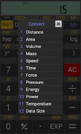 RealCalc Scientific Calculator Screenshot 6