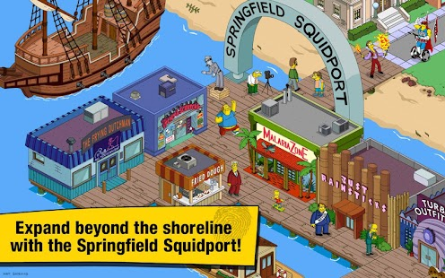 The Simpsons: Tapped Out MOD 4.14.5 APK
