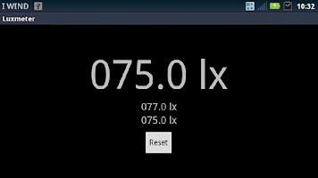 Screenshot of Lightmeter (exposure meter)