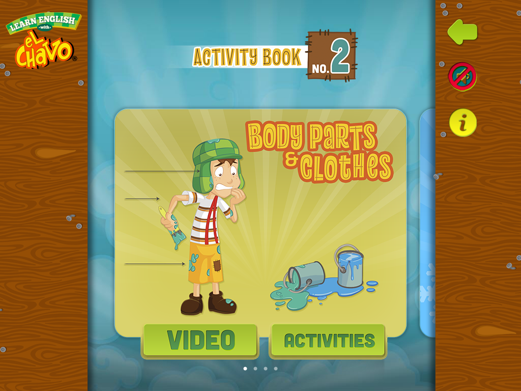 Learn English with El Chavo.- screenshot