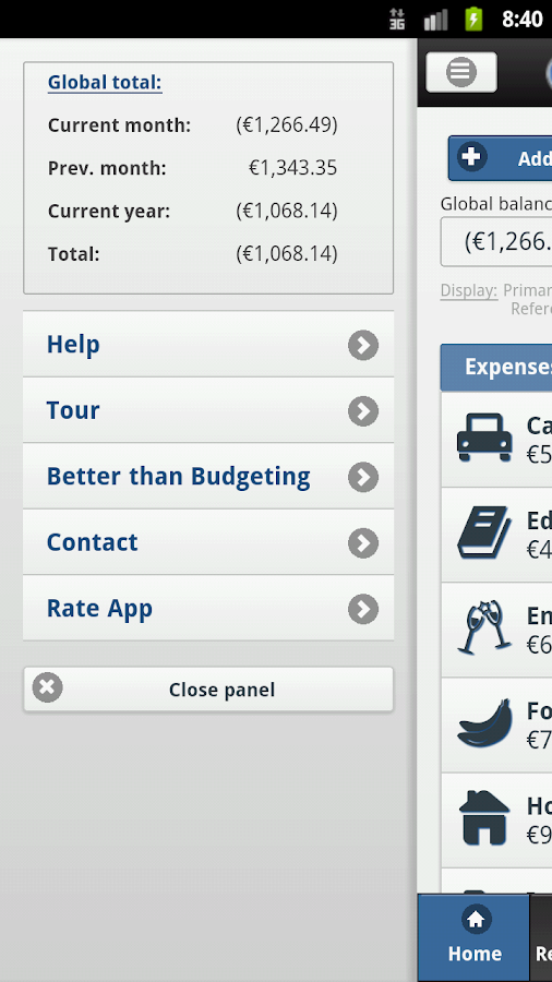 Better than Budgeting- screenshot