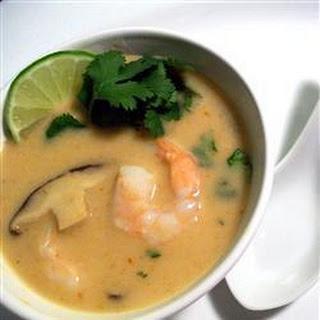 Thai Prawn and Shitake Mushroom Soup Recipe