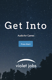 Get Into: Audio for Games- screenshot thumbnail