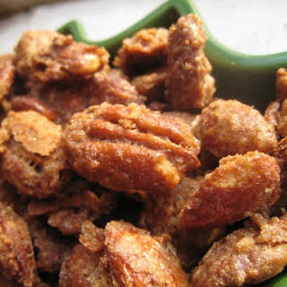 Sugar-and-Spice Candied Nuts.