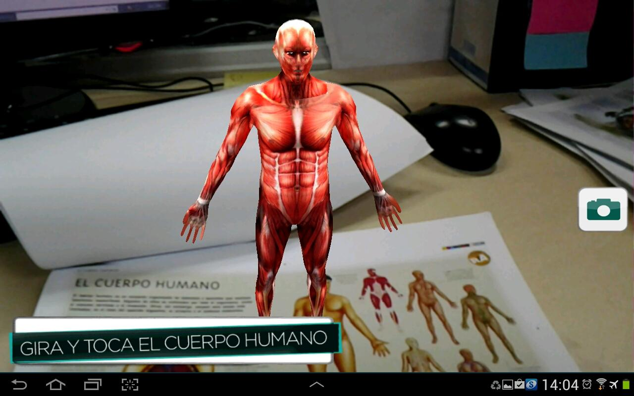 ARcuerpohumano- screenshot
