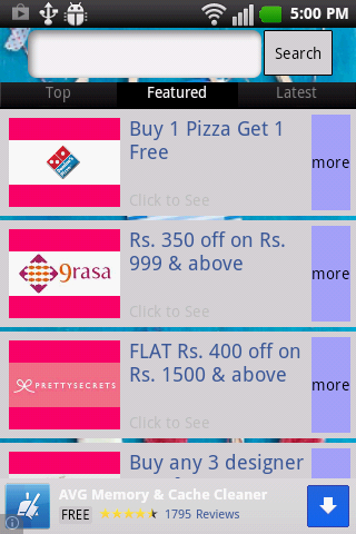 India Loves Offers- screenshot