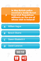 Screenshot of Global Conflict - 100Q Quiz