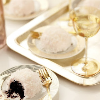 Mini Chocolate-Coconut Cakes