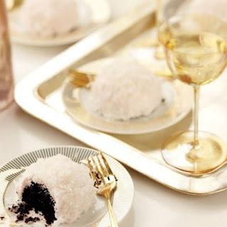 Mini Chocolate-Coconut Cakes.